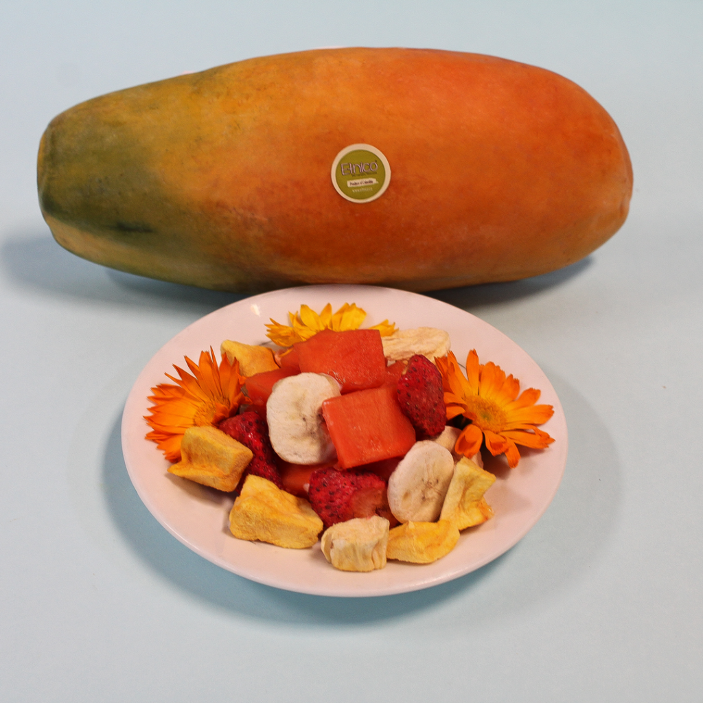 Papaya con Mix Tropical